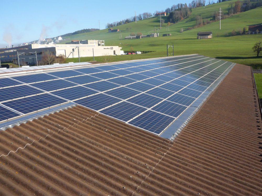 Photovoltaik Anlage Ueber uns schneider holzbau ag