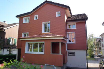 Referenzen Altbausanierung Sanierung Fassade