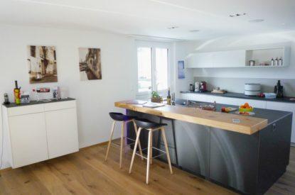 Referenzen Altbausanierung Wohnzimmer- Und Kuechenumbau Kueche
