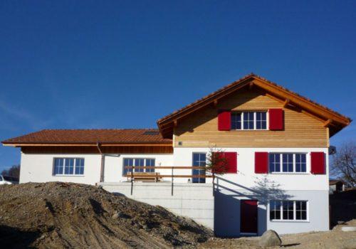 Referenzen Zimmerei Neubau Bauernhaus 01