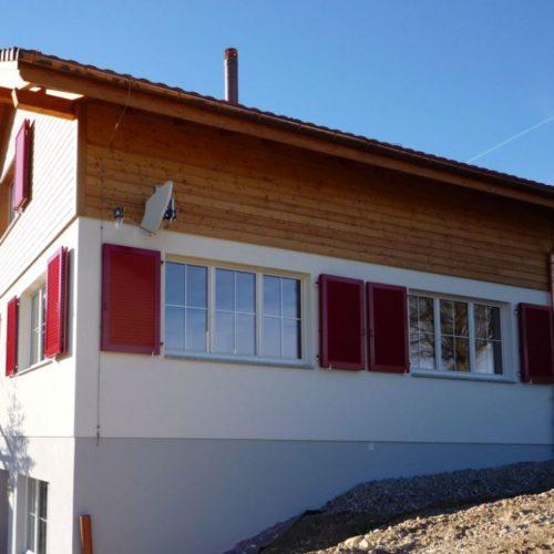 Referenzen Zimmerei Neubau Bauernhaus 02