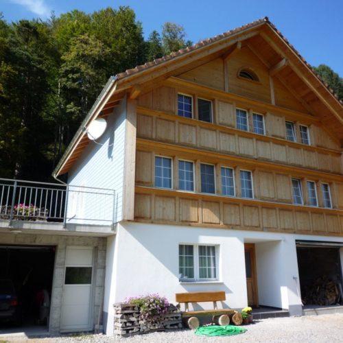 Referenzen Zimmerei Neubau EFH 2007 02