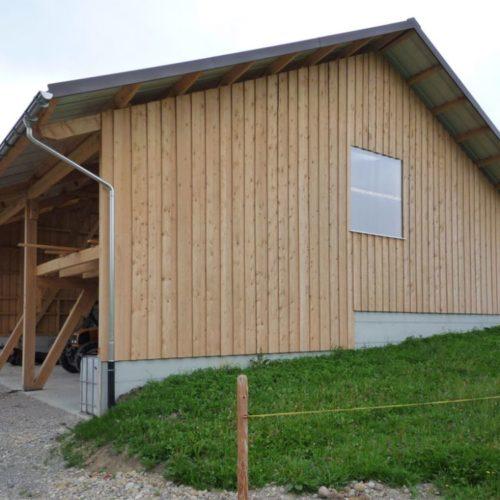 Referenzen Zimmerei Neubau Remise 03