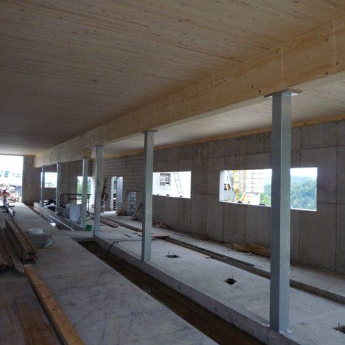 Referenzen Zimmerei Neubau Rindviehscheune 04