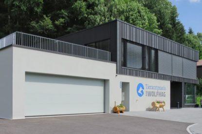 Referenzen Zimmerei Neubau Tierarztpraxis 01
