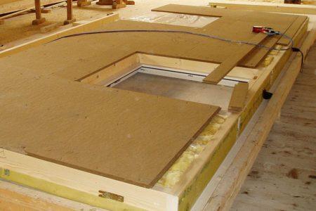 Zimmerei Elementbau Montage Der Fassadenplatte
