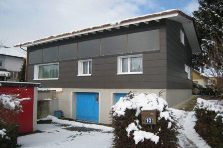 Zimmerei Fassaden Faserzemet Fassadenverkleidung