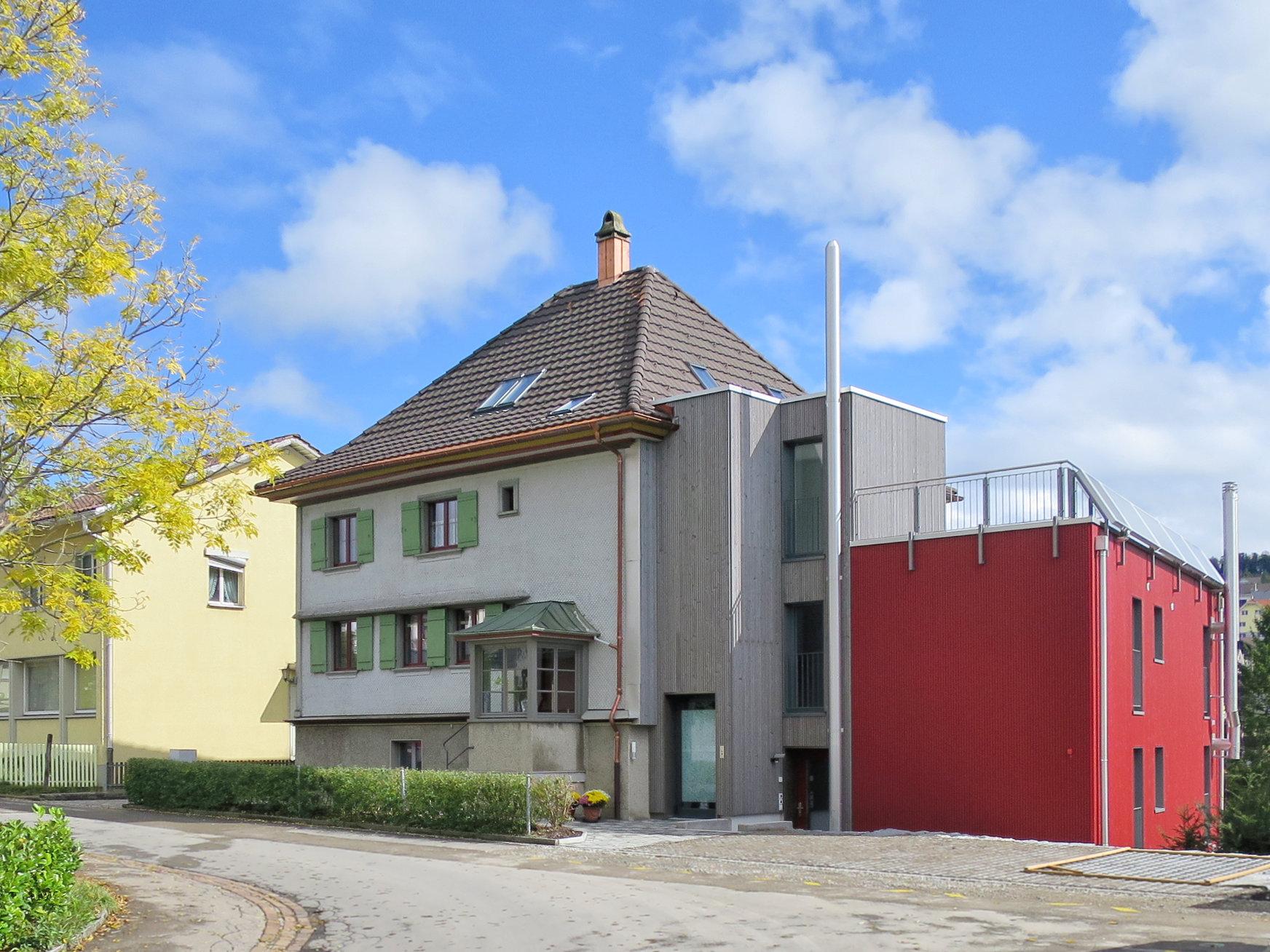 Referenz An- Und Umbau Wohnhaus